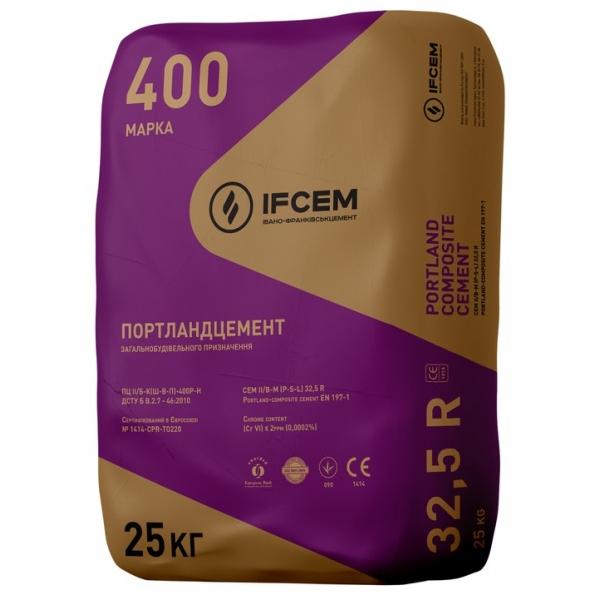 Цемент IFCEM ПЦ II/БК-400 25 кг