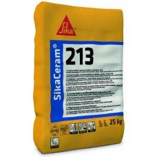 Клей для плитки та керамограніту SikaCeram 213 Extra 25кг