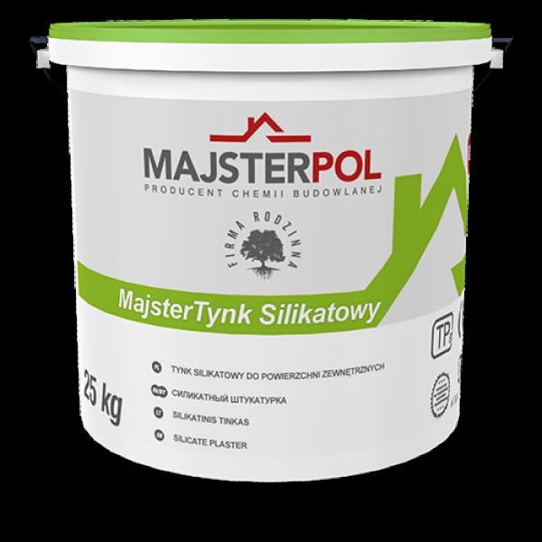 Штукатурка силікатна MajsterTynk MAJSTERPOL 25 кг