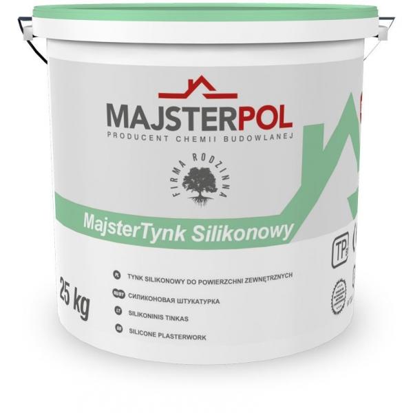 Штукатурка силіконова MajsterTynk MAJSTERPOL 25 кг