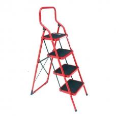 Стрем'янка 4 сходинки 380x260 мм висота 1390 мм INTERTOOL LT-0034