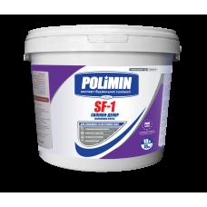 Фарба фасадна силікономодифікована Polimin SF-1 Силікон-Декор 14 кг