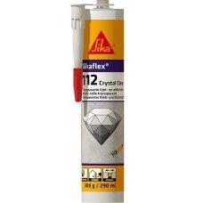 Прозорий будівельний клей-герметик SIKAFLEX–112 CRYSTAL CLEAR 290 мл