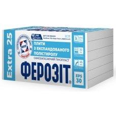 Пінопласт ФЕРОЗІТ 25 EXTRA (EPS-30)