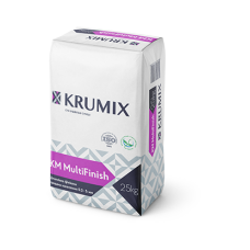 Шпаклівка гіпсова КМ MultiFinish Krumix 25 кг