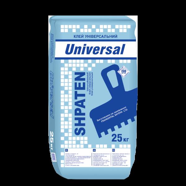 Клей армований універсальний для фасаду Shpaten Universal 25 кг